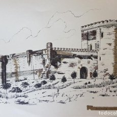 Documentos antiguos: MARCHENILLA SEVILLA CASTILLO LAMINA 35 X 26. Lote 226818925