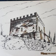 Documentos antiguos: BALSARENY BARCELONA CASTILLO LAMINA 35 X 26. Lote 226819030
