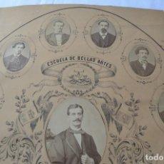 Documents Anciens: ORLA ESCUELA BELLAS ARTES. Lote 227131580