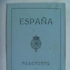 Documentos antiguos: PASAPORTE DE ESPAÑA DE LA EPOCA DE ALFONSO XIII , DE UNA SEÑORA CONDESA. SEVILLA, 1923. VIÑETA, ETC. Lote 231705765