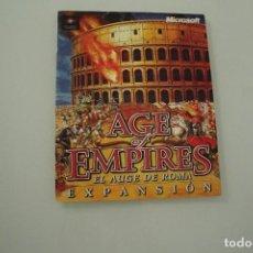Documentos antiguos: AGE OF EMPIRES AL AUGE DE ROMA EXPANSION. Lote 234491835