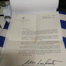 Documentos antiguos: CARTA DIPUTADO LUCENSE DE U.C.D. SOLICITANDO EL VOTO PARA ELECCIONES AL PARLAMENTO GALLEGO 1981. Lote 234779160
