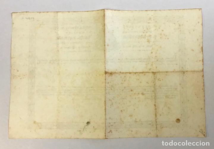 Documentos antiguos: PATRIZI, Costantino. AUTENTICACIÓN DE UNA RELIQUIA DE SAN JUAN BAUTISTA Firma autógrafa del cardeNal - Foto 3 - 234842075