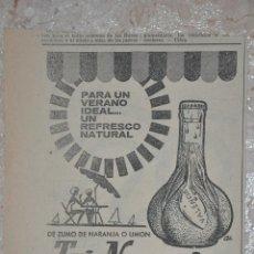 Documents Anciens: ANUNCIO TRINARANJUS. Lote 237461690