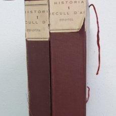 Documentos antiguos: ESTUDIO DE LA CERÁMICA . DOS CARPETAS. Lote 238416600