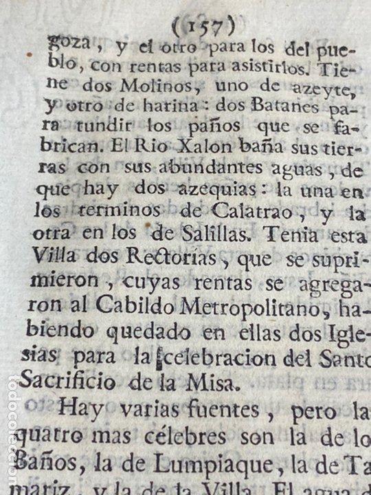 Documentos antiguos: DESCRIPCIÓN DE ÉPILA DEL AÑO 1779. IMPRESO ORIGINAL. - Foto 3 - 238838090