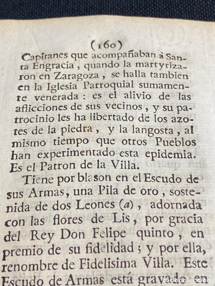 Documentos antiguos: DESCRIPCIÓN DE ÉPILA DEL AÑO 1779. IMPRESO ORIGINAL. - Foto 5 - 238838090