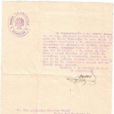 Documentos antiguos: COMUNICADO BANDA LA ARTÍSTICA - MONÓVAR - ALICANTE - 1932. Lote 239455285