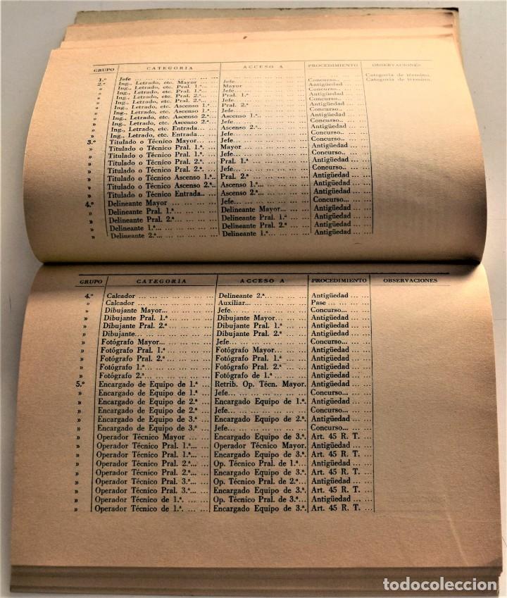 Documentos antiguos: TELEFÓNICA - REGLAMENTO NACIONAL DE TRABAJO Y REGLAMENTO DE RÉGIMEN INTERIOR - MADRID 1963 - Foto 6 - 240926850