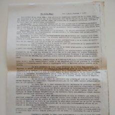 Documentos antiguos: DOCUMENTO HERBORISTERIA ANNA SABADELL LA JALEA REAL 1977. Lote 241332610