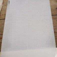 Documentos antiguos: SIGLO XIX, FOLIO EN BLANCO MARCA DE AGUA H D,TIMBROLOGIA, WATEMARK. Lote 242251710
