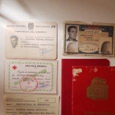 Documentos antiguos: LOTE DE DOCUMENTACION ANTIGUA. Lote 242992065