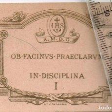 Documentos antiguos: 1939 / 60 CA. PUNTOS DE BUENA CONDUCTA DEL COLEGIO SAGRADO CORAZÓN DE JESÚS - BARCELONA - 4 CUPONES. Lote 243647175