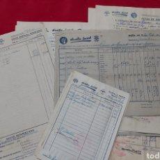 Documentos antiguos: LOTE DOCUMENTOS AUXILIO SOCIAL SAN PERE DE RIBAS. Lote 245074455