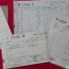 Documentos antiguos: LOTE DOCUMENTOS AUXILIO SOCIAL VILANOVA I LA GELTRÚ. Lote 245075940