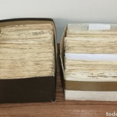 Documentos antiguos: GRAN COLECCIÓN TIMBROLOGIA DE UNOS 2800 SELLOS TIMBRES FISCALES DESDE 1638 A 1968. Lote 247418000
