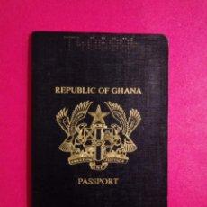 Documentos antiguos: PASAPORTE DE GHANA 1993, PASSPORT, PASSEPORT, REISEPASS. Lote 251285540