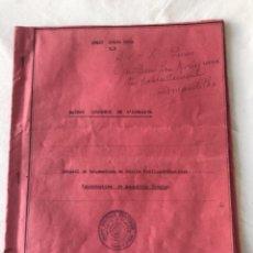 Documentos antiguos: INTERESANTE DOCUMENTACIÓN MECANOGRAFÍADA RAYOS DE LUX DEL HIMALAYA. VER FOTOS ANEXAS.. Lote 252438525