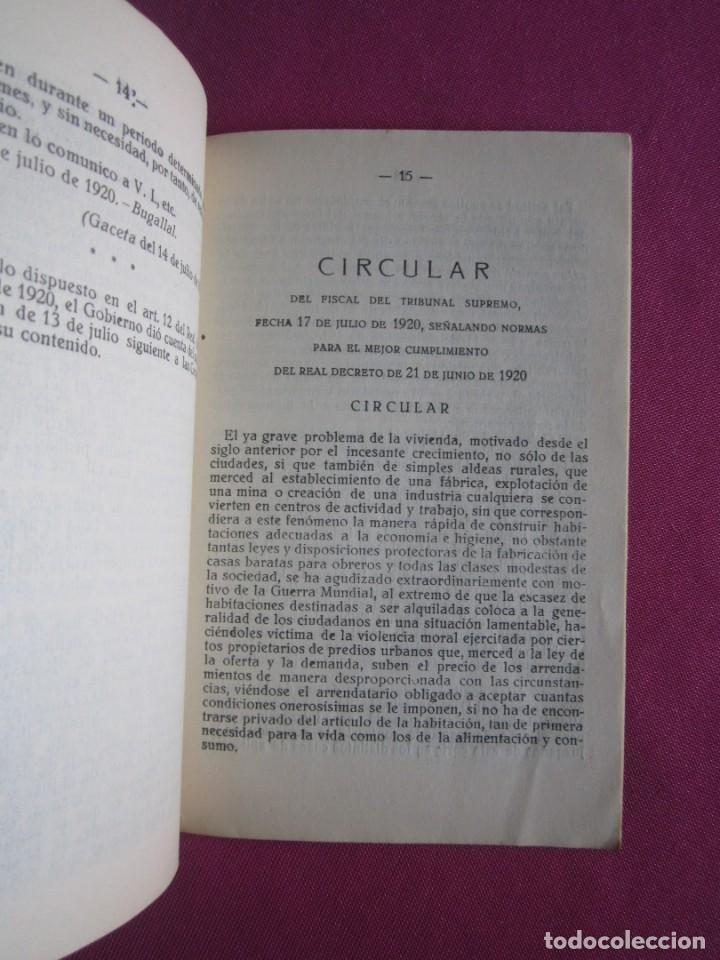 Documentos antiguos: LIGA DE INQUILINOS DE AVILES Y SU CONCEJO FIRMADO LA VOZ DE AVILES 1920 , - Foto 4 - 254615810