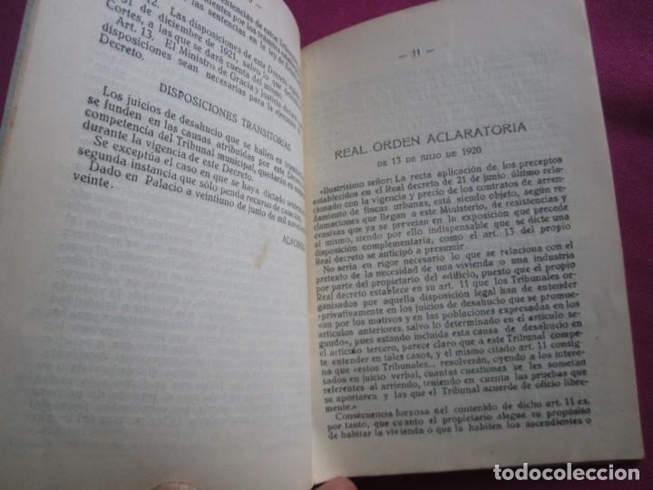 Documentos antiguos: LIGA DE INQUILINOS DE AVILES Y SU CONCEJO FIRMADO LA VOZ DE AVILES 1920 , - Foto 6 - 254615810