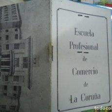 Documentos antiguos: 1960 RARO CARNET DE LA ESCUELA PROFESIONAL DE COMERCIO DE LA CORUÑA ES UN CARNET ORIGINAL DE 1960 EN. Lote 254944955