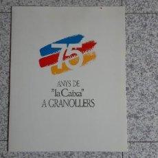 Documentos antiguos: 5 FOTOS ANTÍGUAS DE LA CIUDAD DE GRANOLLERS. Lote 254956875