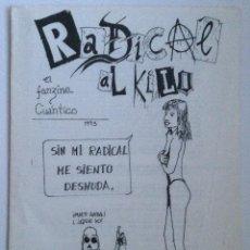 Documentos antiguos: RADICAL AL KILO FACULTAD DE CIENCIAS UNIVERSIDAD DE GRANADA BOLETÍN INFORMATIVO 1993. Lote 255456115