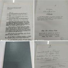 Documentos antiguos: ESTUDIOS Y DOCUMENTOS SOBRE EL CONCIERTO ECONOMICO VASCO PEDRO ARREGUI Y SABARTE CORRESPONDENCIA. Lote 257832075