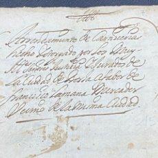Documentos antiguos: 1689. CARNICERÍAS DE BORJA, ZARAGOZA. CAPITULACIONES Y ARRENDAMIENTO. FIRMA NOTARIAL. IMPORTANTE.. Lote 259296410