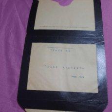 Documentos antiguos: TRES CARTAS ANTIGUAS ..J.RUIZ Y COMPAÑIA.VINOS.COGNAC,PONCHE ESPAÑOL.. Lote 260599610