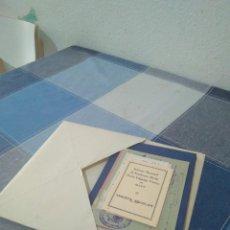 Documentos antiguos: LOTE DOCUMENTOS ESCOLARES 1948-1967 ALCOY. Lote 262027310