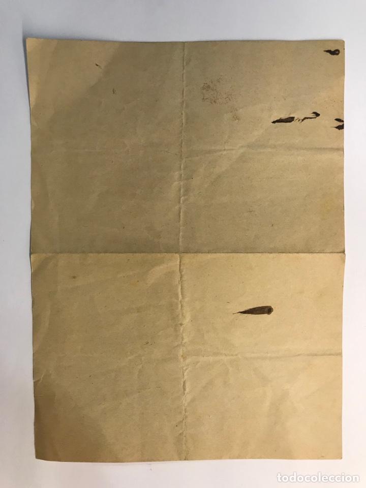 Documentos antiguos: MILITAR. Documento Regimiento Cazadores de Victoria Eugenia (Octubre de 1929) - Foto 2 - 262304865