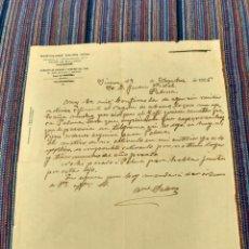 Documentos antiguos: 1926 BARTOLOMÉ SALOM ALMACÉN HARINAS Y GENEROS DEL PAIS. Lote 262383780