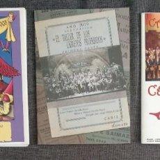 Documentos antiguos: LOTE LIBRETOS COROS / CARNAVAL CADIZ. Lote 262387375