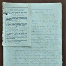 Documentos antiguos: CONFERENCIA VIGENCIA ACTUAL Y POSIBILIDADES DEL FUTURO DE LA DOCTRINA JOSÉANTONIANA AÑO 1961 JÁTIVA. Lote 263033855