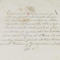 Documentos antiguos: EXPEDIENTE APROVECHAMIENTO AGUAS ONDARROA ANTEIGLESIA DE XEMENT AÑO 1902 GUIPUZCOA. Lote 264416744