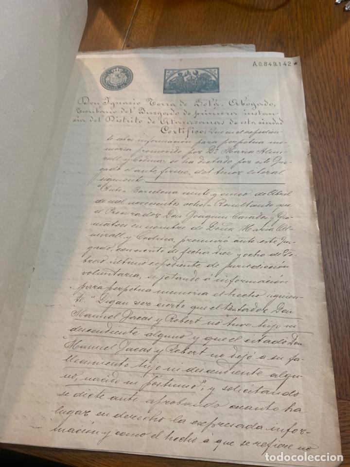 Documentos antiguos: Escritura - Foto 2 - 264424734