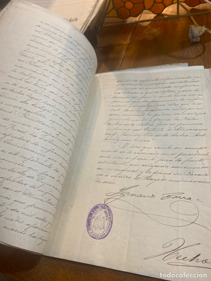 Documentos antiguos: Escritura - Foto 3 - 264424734