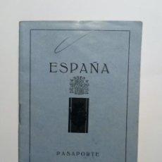 Documentos antiguos: PASAPORTE ESPAÑA DE MATRIMONIO EXPEDIDO EL 27 JULIO DE 1931. Lote 264991324