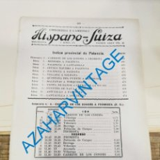 Documentos antiguos: 1930, LINEAS DE AUTOBUSES DE PALENCIA Y SU PROVINCIA, HORARIOS Y PRECIOS, 6 PAGINAS. Lote 265505959
