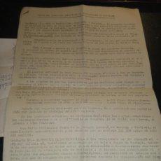 Documentos antiguos: TEXTO DEL CONVENIO COLECTIVO DE RECOLCCION DE CITRICOS DE 1977-78 Y CAMPAÑA DE PODADORES SELLO UGT. Lote 265856559