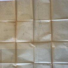 "Documentos antiguos: IMPORTANTES 5 PLANOS ORGINALES DEL BALANDRO "" SNIPE"" VELERO 1940'S. VER FOTOS ANEXAS.. Lote 266116108"