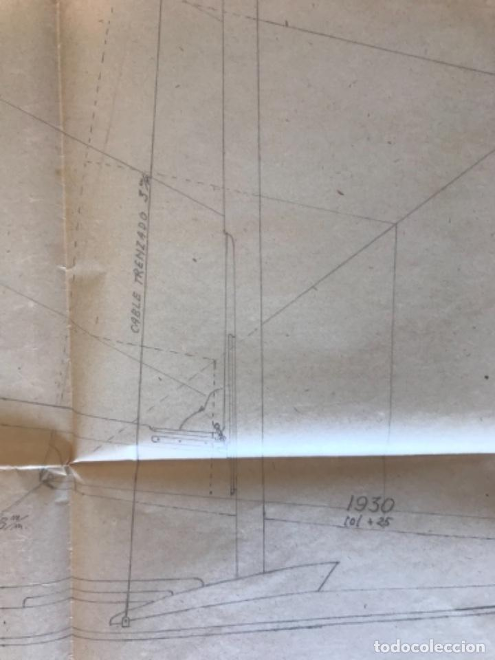 "Documentos antiguos: IMPORTANTES 5 PLANOS ORGINALES DEL BALANDRO "" SNIPE"" VELERO 1940'S. VER FOTOS ANEXAS. - Foto 6 - 266116108"