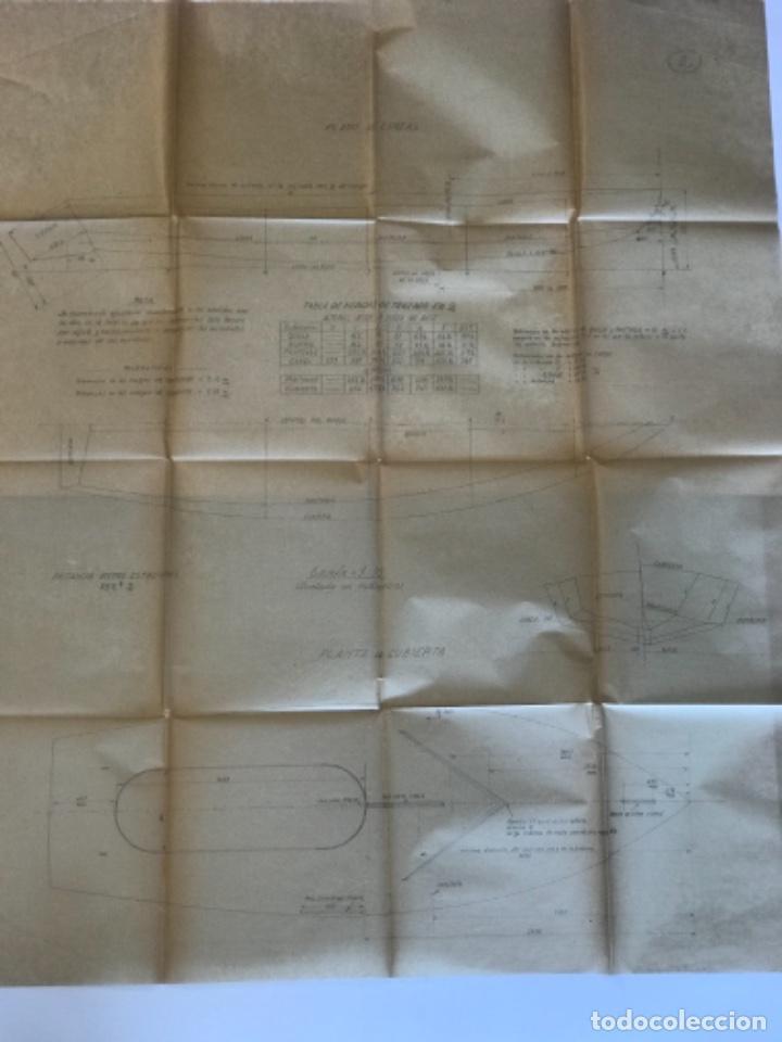 "Documentos antiguos: IMPORTANTES 5 PLANOS ORGINALES DEL BALANDRO "" SNIPE"" VELERO 1940'S. VER FOTOS ANEXAS. - Foto 8 - 266116108"
