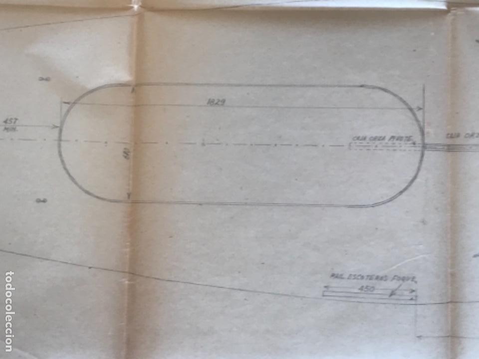 "Documentos antiguos: IMPORTANTES 5 PLANOS ORGINALES DEL BALANDRO "" SNIPE"" VELERO 1940'S. VER FOTOS ANEXAS. - Foto 10 - 266116108"