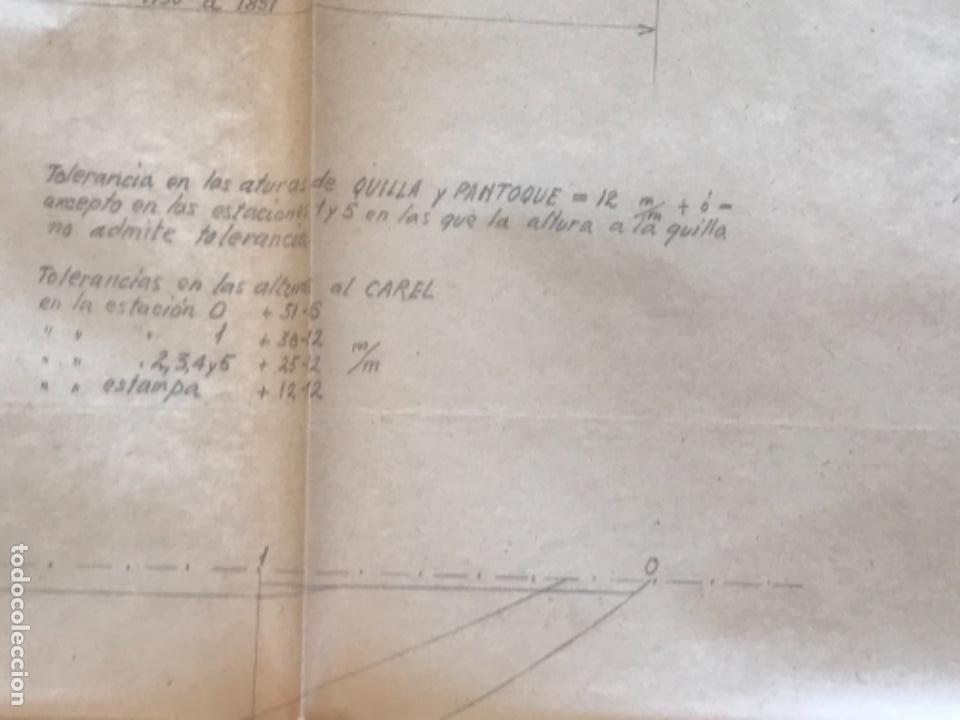 "Documentos antiguos: IMPORTANTES 5 PLANOS ORGINALES DEL BALANDRO "" SNIPE"" VELERO 1940'S. VER FOTOS ANEXAS. - Foto 13 - 266116108"