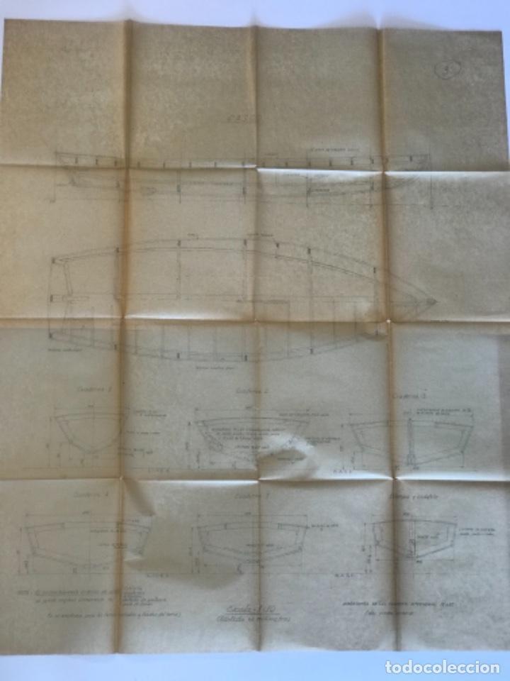 "Documentos antiguos: IMPORTANTES 5 PLANOS ORGINALES DEL BALANDRO "" SNIPE"" VELERO 1940'S. VER FOTOS ANEXAS. - Foto 15 - 266116108"