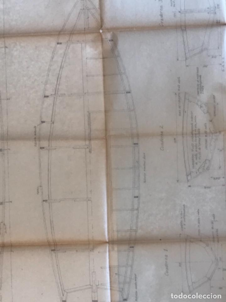 "Documentos antiguos: IMPORTANTES 5 PLANOS ORGINALES DEL BALANDRO "" SNIPE"" VELERO 1940'S. VER FOTOS ANEXAS. - Foto 16 - 266116108"
