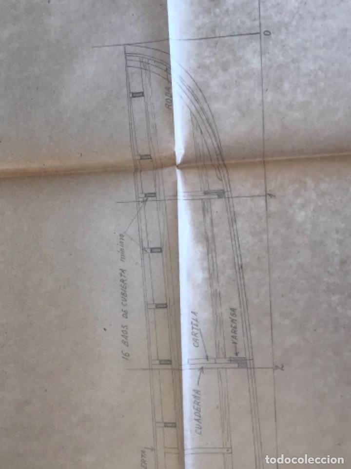 "Documentos antiguos: IMPORTANTES 5 PLANOS ORGINALES DEL BALANDRO "" SNIPE"" VELERO 1940'S. VER FOTOS ANEXAS. - Foto 17 - 266116108"