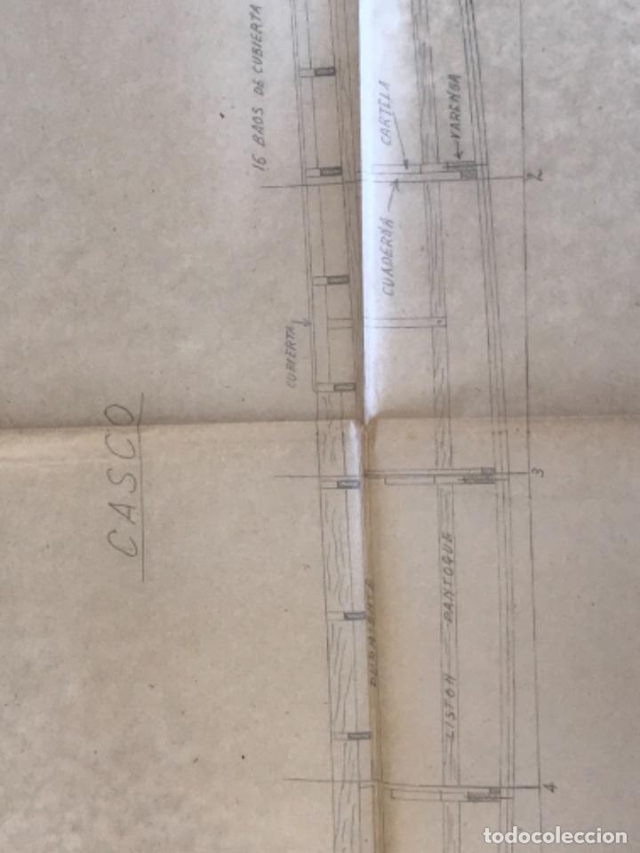 "Documentos antiguos: IMPORTANTES 5 PLANOS ORGINALES DEL BALANDRO "" SNIPE"" VELERO 1940'S. VER FOTOS ANEXAS. - Foto 18 - 266116108"
